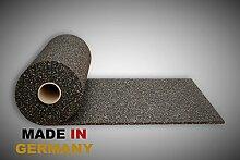Gummimatte Anti-Vibrationsmatte Antirutschmatte 900 x 125 x 2 cm (Marke: Szagato) (Bautenschutzmatte Gummigranulatmatte Kofferraummatte Bodenschutzmatte Bodenbelag Gummi)