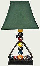 Guo Kreative Europäische Stil Lampe American Wohnzimmer Schlafzimmer Beleuchtung Harz Billiard Lampe Tischleuchte E27 * 1