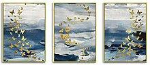 GUOCHEN Wandkunst, Nordic Leinwand Malerei