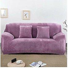 GUOCU Dicker Samt Sofabezug Bezüge Für