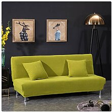 GUOCU Elastisch Sofabezug ohne armlehnen Klappsofa