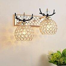 GuoEY Moderne minimalistische kristall Wandleuchte