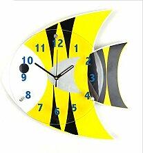 GuoEY Wanduhren Cute Tischuhr Handwerkskunst clock