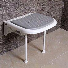 GUOHONGCX Wandhocker Badezimmer Stuhl Dusche Dusche Stuhl Sicherheit Bad Hocker Klappstuhl Klappstuhl Behinderte Person Medical Disabled Folding,B