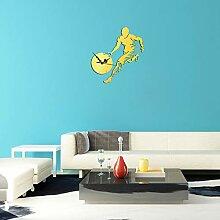 Guokee Aufkleber Für Wand Engel Wanduhr DIY Uhr