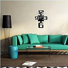 Guokee DIY Wanduhren Modernes Design Quarz Acryl