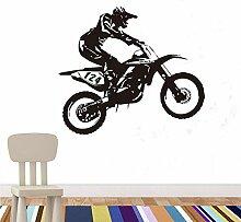 Guokee Racing Riding Motorrad Wand Aufkleber Diy