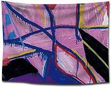 Guokee Tapisserie Wandbehang Abstrakte Kunst Bild
