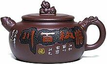 GuoQiang Zhou Erz-Teekanne, berühmte