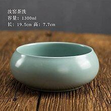 GuoQiang Zhou Pure Hand Creativity Ru Keramik