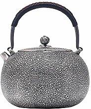 GuoQiang Zhou Silberne Teekanne Japanese Style