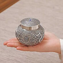 GuoQiang Zhou Silberne Teekanne Sterling Silber