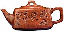 GuoQiang Zhou Teekanne Duft braun