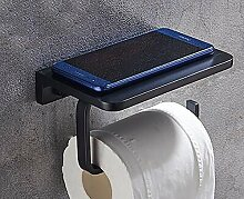 GUOSHIJITUAN Schwarz Wc-fach,Toilette