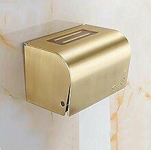 GUOSHIJITUAN Wc-fach gold,Toilette Gewebe-halter