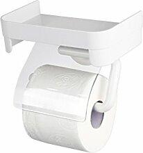 GUOSHIJITUAN Weiß Toilettenpapierhalter,Toilette