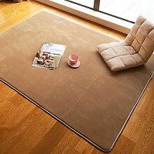 GUOSHIJITUAN Xiandai teppich,Wohnzimmer Schlafzimmer Balkon Teetisch Eingang Teppiche für kinderzimmer Bereichs-wolldecke-N 90x140cm(35x55inch)