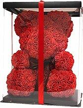 Guotail Dekoration Rose Bear Teddy Cub Forever