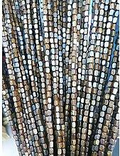 GuoWei Perlenvorhang Türvorhang Bambus Holz Tür