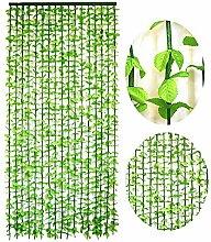 GuoWei Tür Vorhang Holz Strings Kunststoff