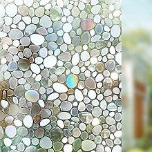 Guoyajf Fensterfolie 3D Statische Privatsphäre