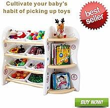 Gupamiga Bücherregal Kinder Spielzeugkiste