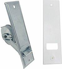 Gurtwickler Rolladen 160 mm + Abdeckplatte bis 5m | Einlasswickler 16 cm für 20-24mm Gurtband Rollo