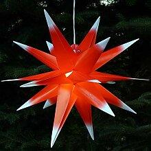 Guru-Shop 3D Außenstern, Weihnachtsstern,