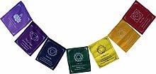 Guru-Shop Chakra Meditation Pennant Chain,