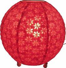 GURU SHOP Corona Round Reispapier Stehlampe Ø 35