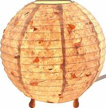 GURU SHOP Corona Round Reispapier Stehlampe