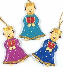 Guru-Shop Die Heiligen 3 Könige, Baumbehang Set,