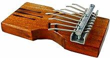 Guru-Shop Kalimba,Tisch Klangspiel aus Holz,