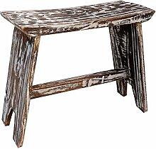Guru-Shop Kleine Sitzbank, Balsaholz, Größe: Klein 22x29x20 cm, Sitzmöbel