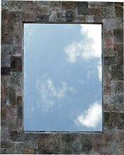 Guru-Shop Lavastein Spiegel 75x60 cm, Spiegel
