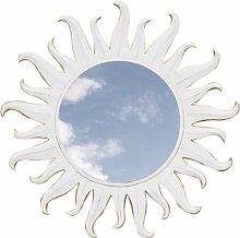 Guru-Shop Sonnenspiegel Antikweiß 3, 100x100x1