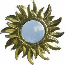 Guru-Shop Sonnenspiegel Gold-1, 29x29 cm,