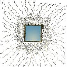 Guru-Shop Spiegel `Sonne`, 95x95x2 cm, Spiegel
