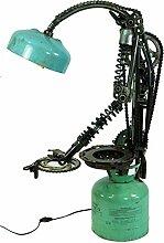 Guru-Shop Stehlampe/Stehleuchte Ritter Rostig,