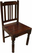 Guru-Shop Stuhl im Kolonialstil R602 - Modell 3,