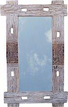 Guru-Shop Treibgut Spiegel, 100x65x4 cm, Spiegel