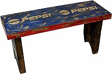 Guru-Shop Vintage Sitzbank, Suarholz, Größe: Klein (28x29x20 Cm), Sitzmöbel