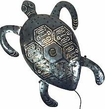 Guru-Shop Wandlampe/Wandleuchte Turtle-