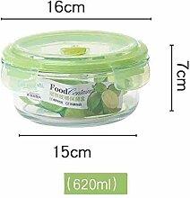 GURUGU Brotdose Borosilikatglas Bento-Box