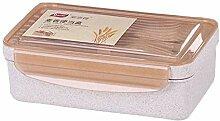GURUGU Weizenfaser Bürogabel Und Löffel Snackbox