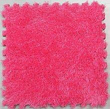 GUSJ 4 Stück Puzzle Teppich Baby Spielmatte