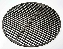 Gusseisen runde + eckige Grillroste viele Größen + Griffe Grillclub® Grill für Weber Gasgrill Holzkohle (Ø 54,5 cm passend für 57er Kugelgrills)