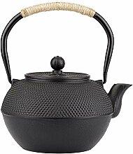 Gusseisen Teekanne 0.9l Asiatische Tee Kanne