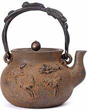 Gusseisen-Teekanne für selbstgemachte Teekanne,