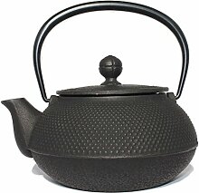 Gusseisen Teekanne Iwachu Japan Arare 0.8l schwarz